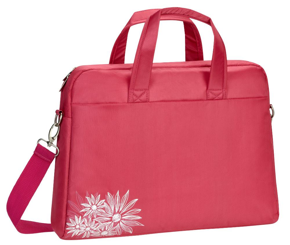 """RivaCase 8420 dámská brašna na notebook 13,3"""" růžová"""