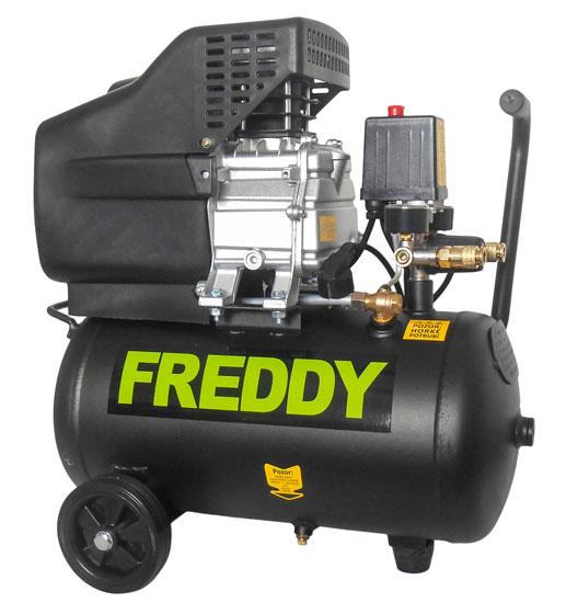FREDDY - olejový kompresor 1,5kW; 2,0HP; 24l
