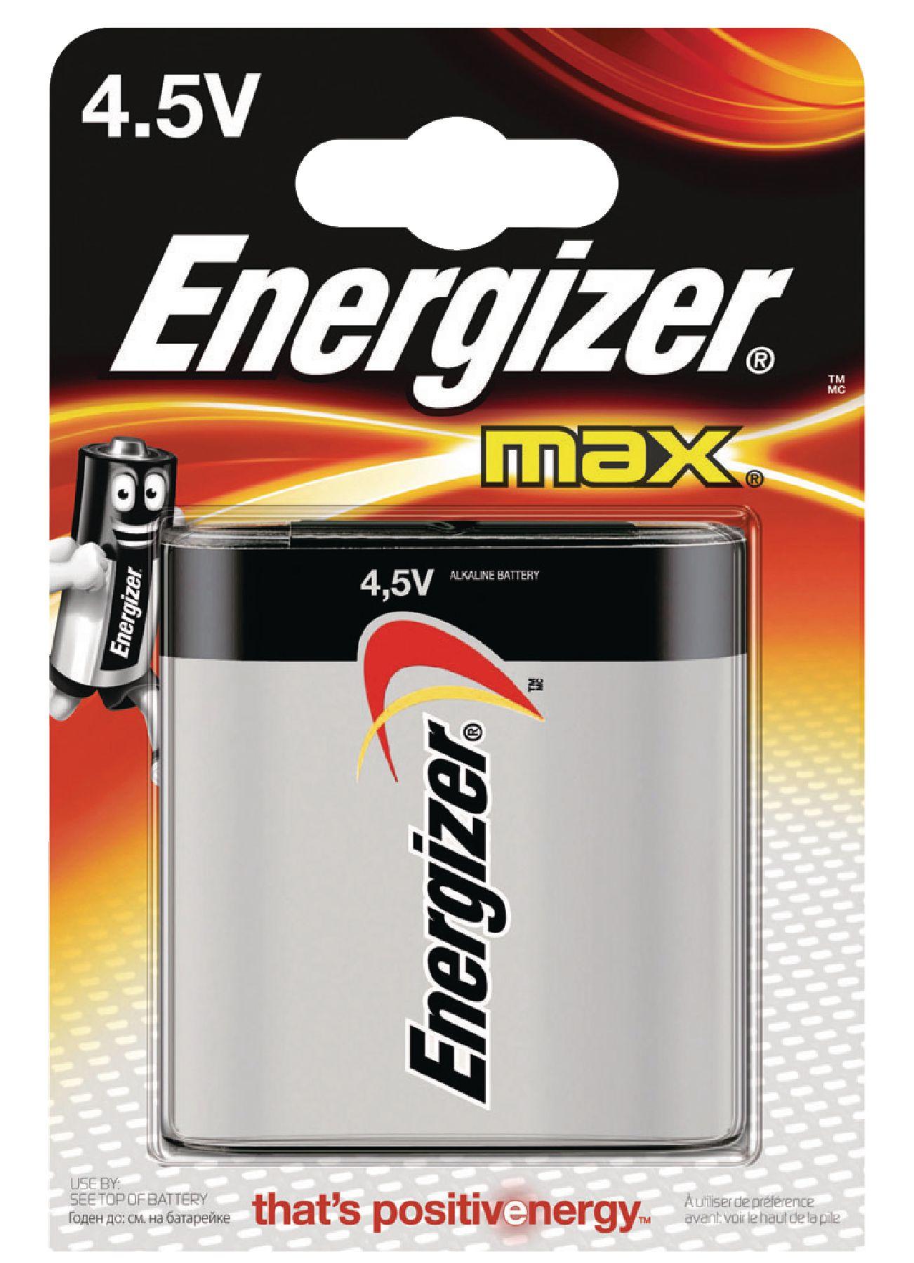 Alkalická baterie Energizer Max 3LR12 4.5 V, 1ks, EN-E300116200