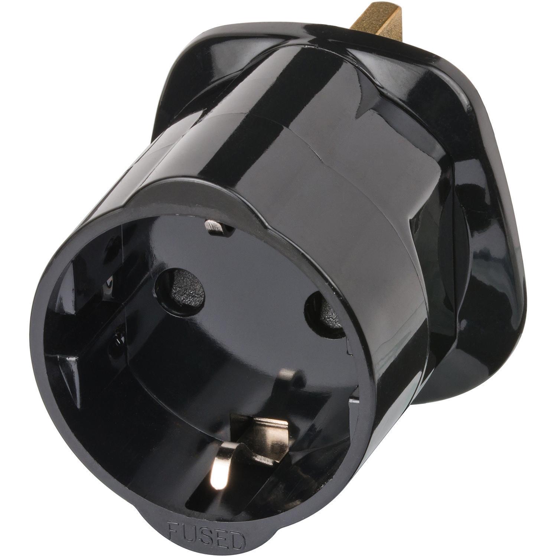 Brennenstuhl cestovní adaptér Evropa na UK, uzemněný BN-1508533